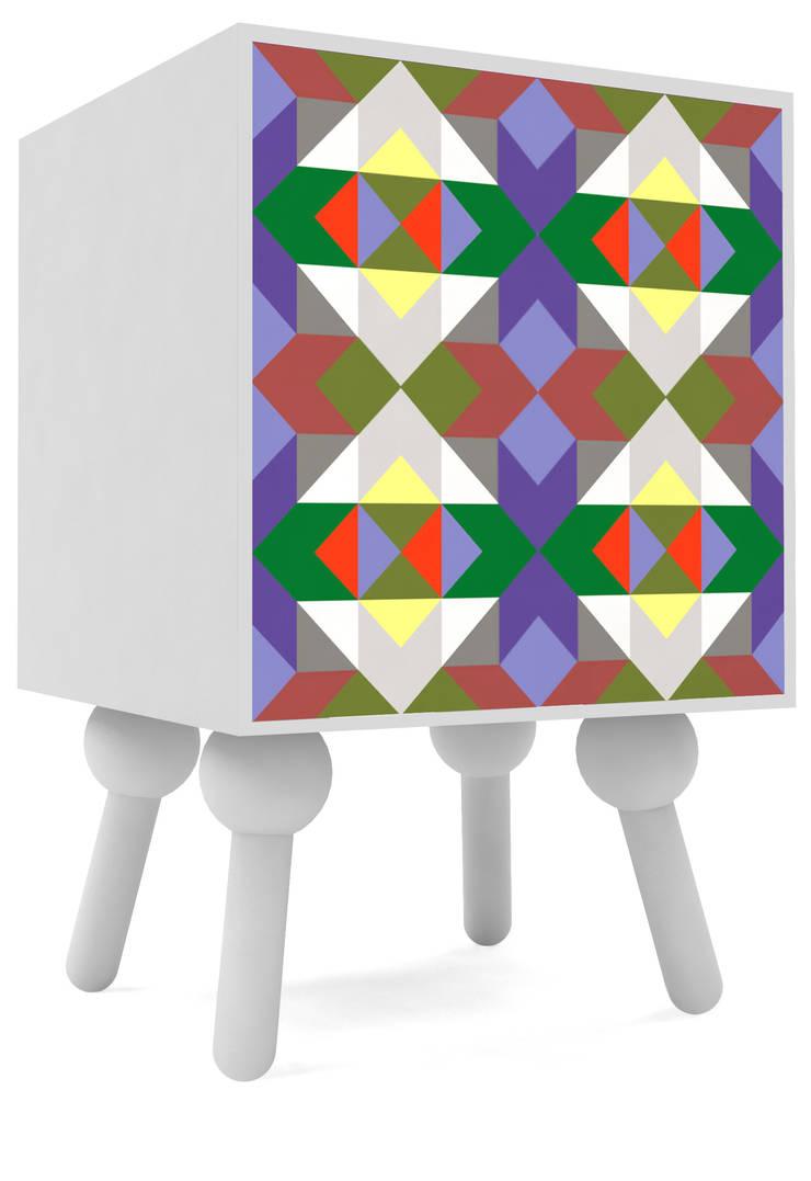 la cocotte: styl , w kategorii Sypialnia zaprojektowany przez Mudo Design