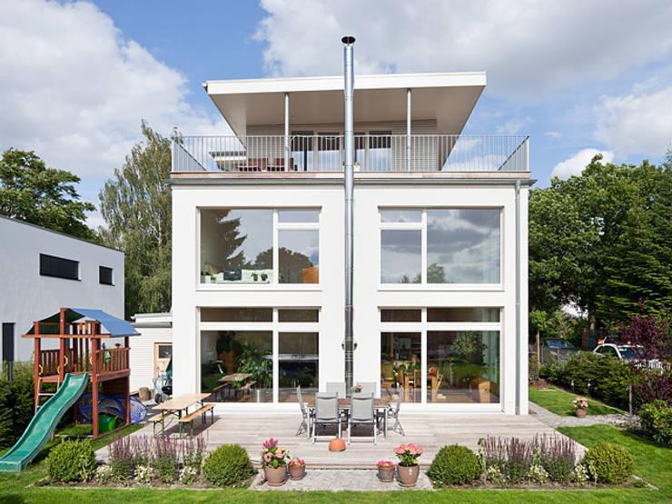 Projekty,  Taras zaprojektowane przez Müllers Büro