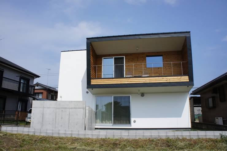 The House for ride the wave.: tai_tai STUDIOが手掛けた家です。