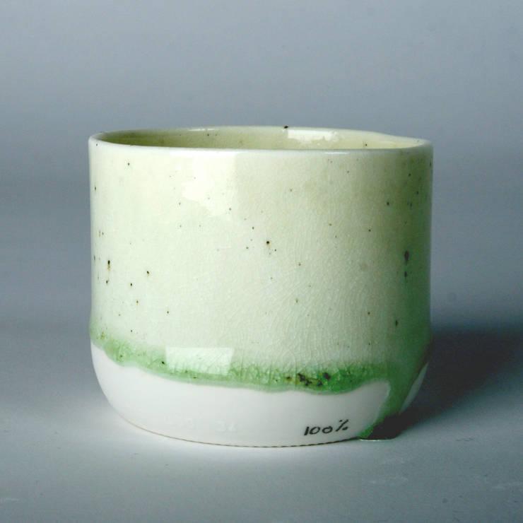 Enkel Glas #3 naturel:  Keuken door Studio Ineke van der Werff