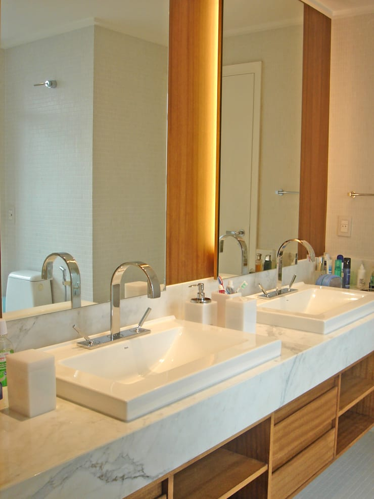 VS: Banheiros  por Luciana Tomas Arquitetura