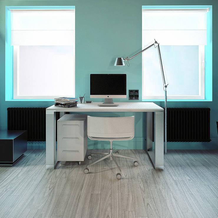 MinimaL-Loft: Рабочие кабинеты в . Автор – Dmitriy Khanin