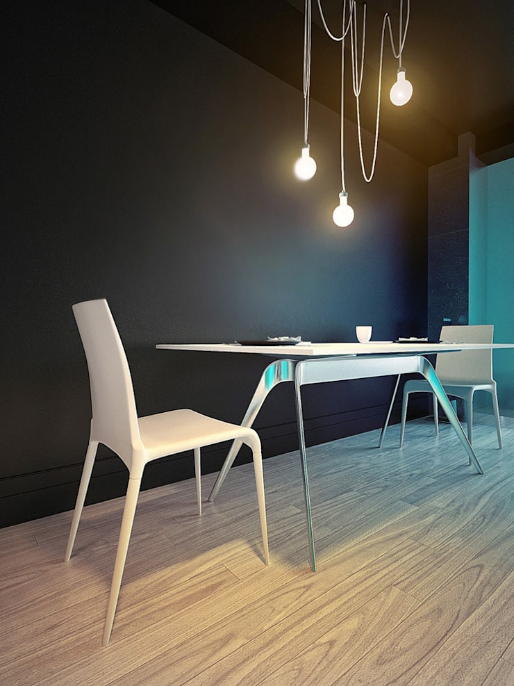 MinimaL-Loft: Столовые комнаты в . Автор – Dmitriy Khanin