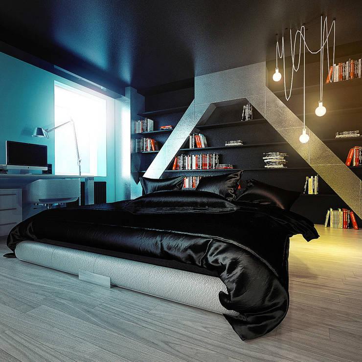 MinimaL-Loft: Спальни в . Автор – Dmitriy Khanin
