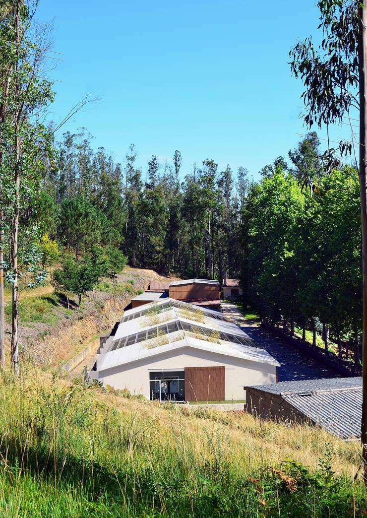 La Vaqueria: Casas de estilo  de ACA.Alfonso Cort Arquitecto