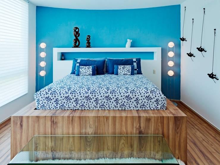 غرفة نوم تنفيذ Excelencia en Diseño