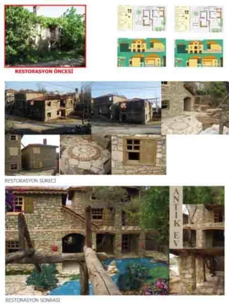 dolunaydın – Hatipler Köyü Taş ev Restorasyon çalışmamız:  tarz