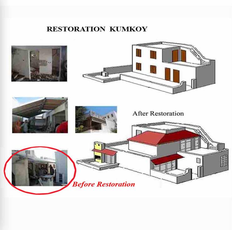 dolunaydın – Kumköy Taş ev Restorasyon çalışmamız:  tarz