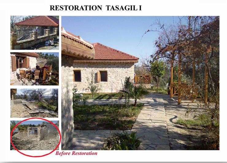 dolunaydın – Taşağıl Beldesi Taş ev Restorasyon çalışmamız:  tarz