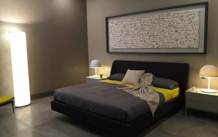 Interiorismo Depts. Edificio SAQQARA: Recámaras de estilo  por BAO
