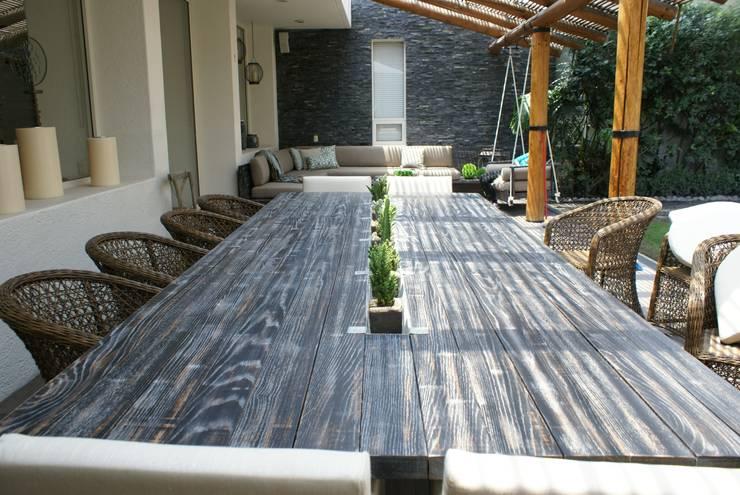 Terraza: Terrazas de estilo  por Jacobs Interiorismo
