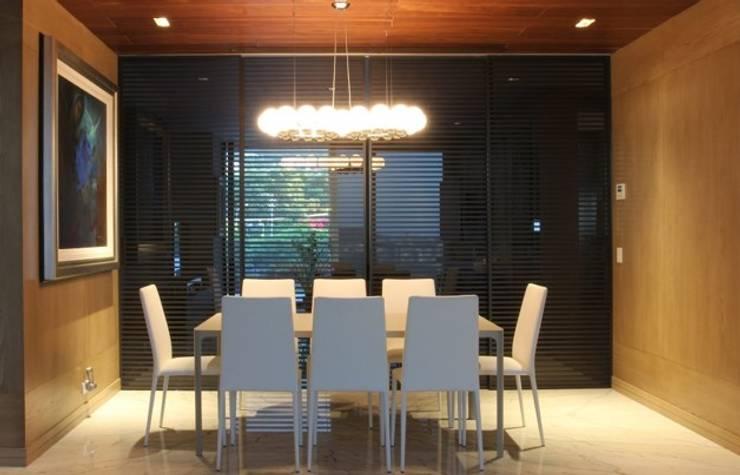 Interiorismo Dept. Edificio El Alear: Comedor de estilo  por BAO