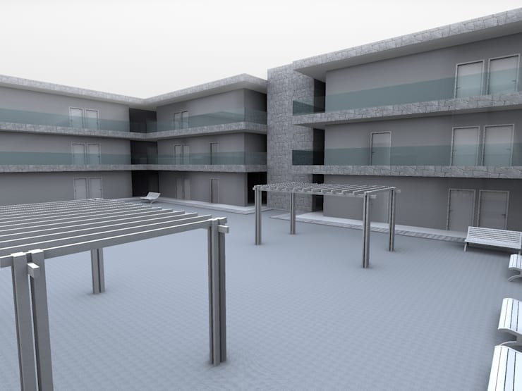 CRC-CLAV: Casas de estilo  por Arq. Jacobo Smeke