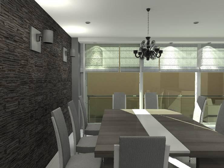 BRT1202: Comedores de estilo  por Arq. Jacobo Smeke