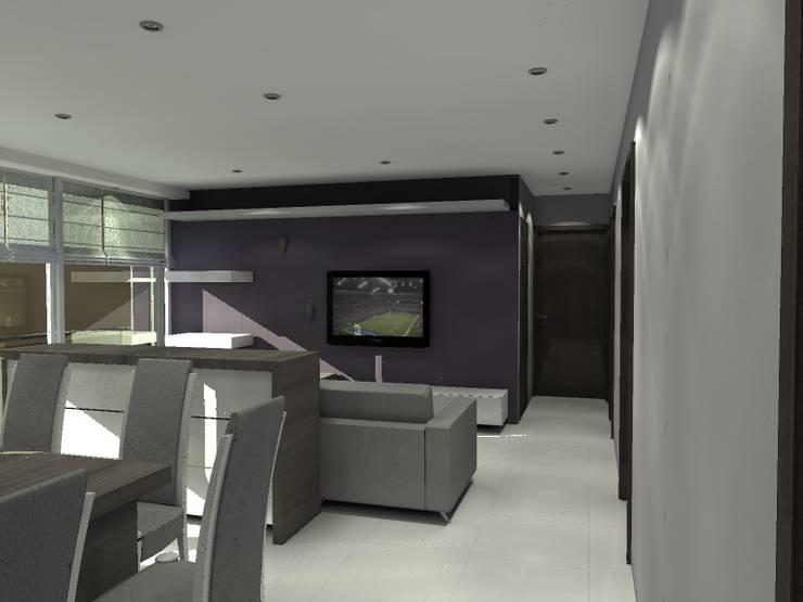BRT1202: Salas multimedia de estilo  por Arq. Jacobo Smeke