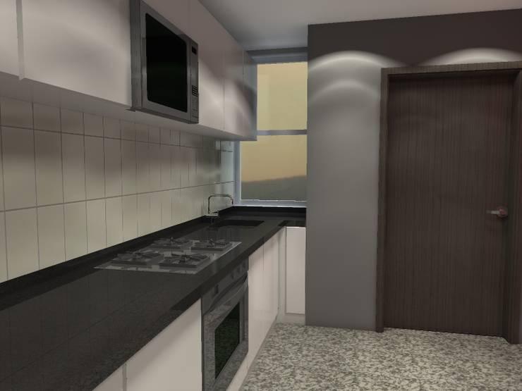 BRT1202: Cocinas de estilo  por Arq. Jacobo Smeke
