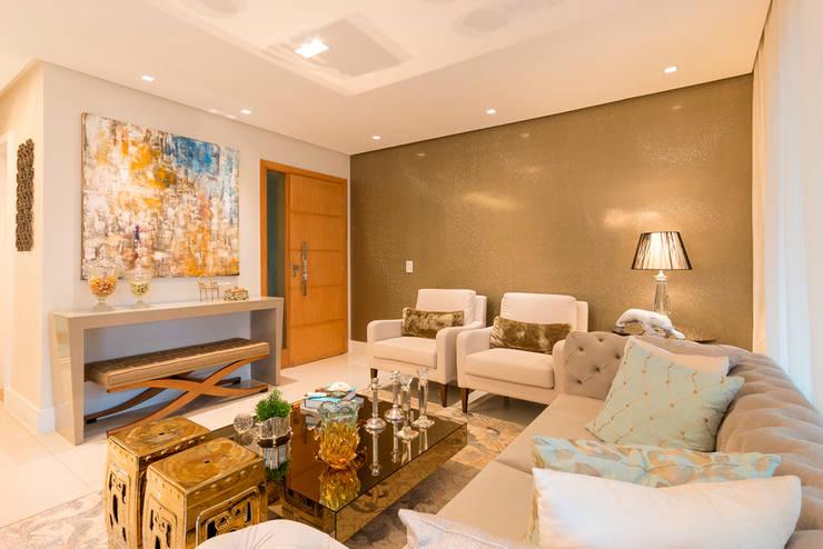 Sala de Estar: Salas de estar  por Dauster Arquitetura