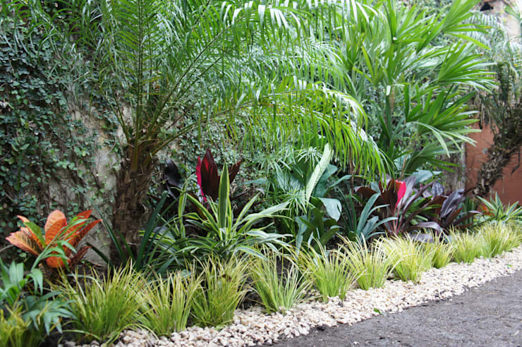 Projekty,  Ogród zaprojektowane przez Estudio Nicolas Pierry: Diseño en Arquitectura de Paisajes & Jardines