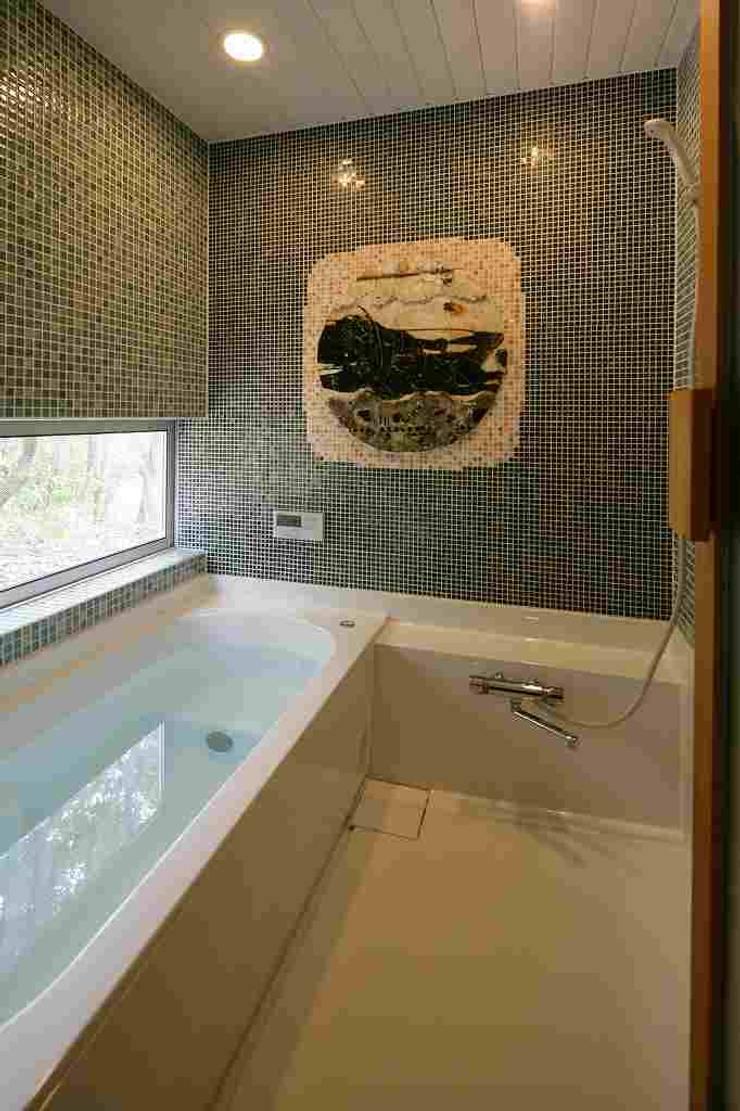 浴室: 後藤建築設計が手掛けた洗面所&風呂&トイレです。