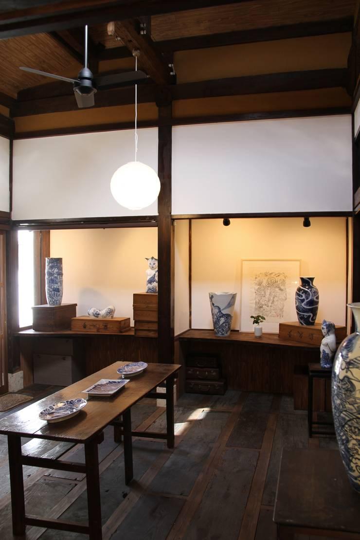 神ノ前アトリエ: 田中博昭建築設計室が手掛けた和室です。