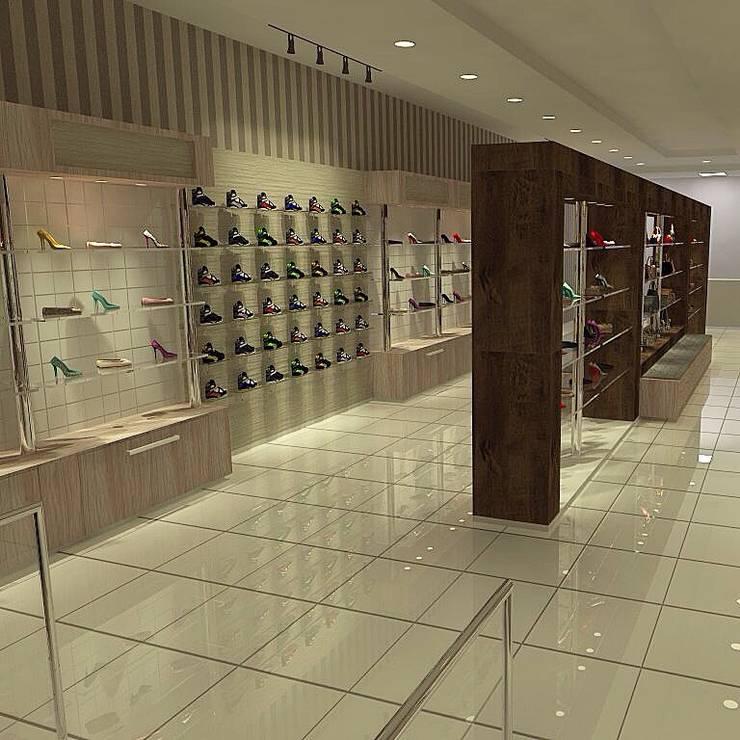 Vista 02: Escritório e loja  por Eugênio Aquino AD