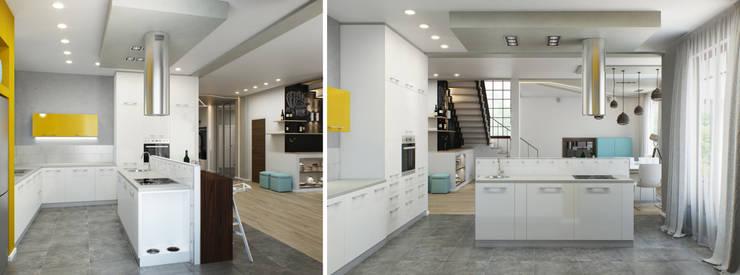 Минималистичный лофт: Кухни в . Автор – Center of interior design, Лофт