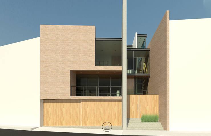 Casa Ocejo: Casas de estilo  por Lozano Arquitectos
