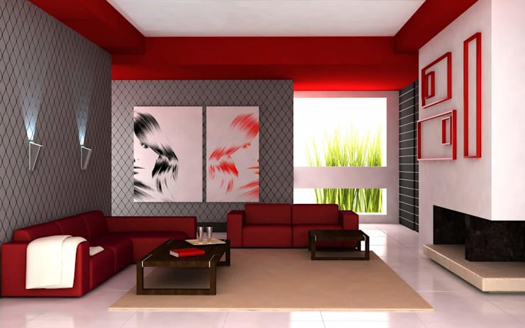 Projekty,  Salon zaprojektowane przez Daire Tadilatları