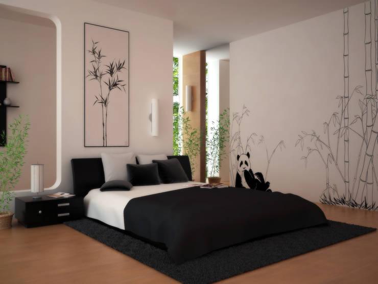 Dekorasyon Şirketi – Kartal Tadilat:  tarz Yatak Odası