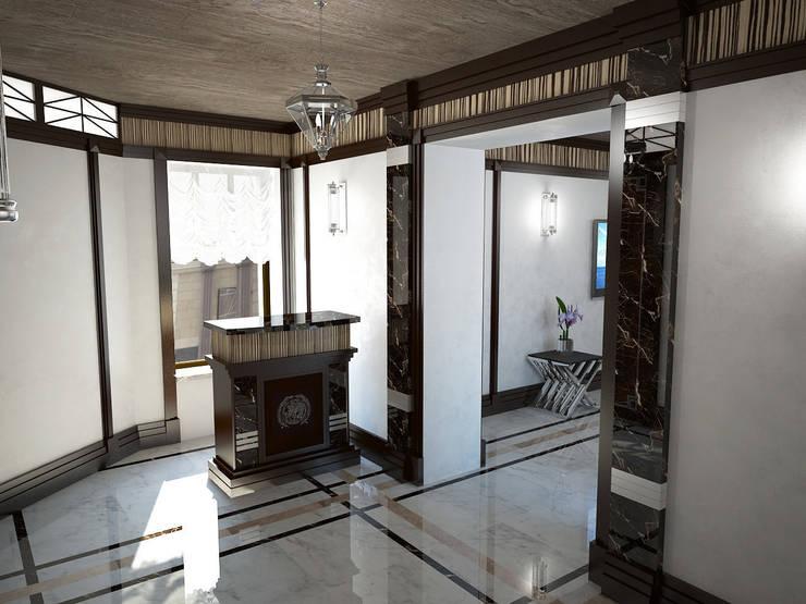 Вариации на тему <q>ар-деко</q>: Офисные помещения в . Автор – МИД | мастерская интерьерного дизайна