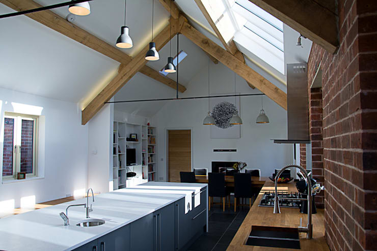 modern Kitchen by Alrewas Architecture Ltd