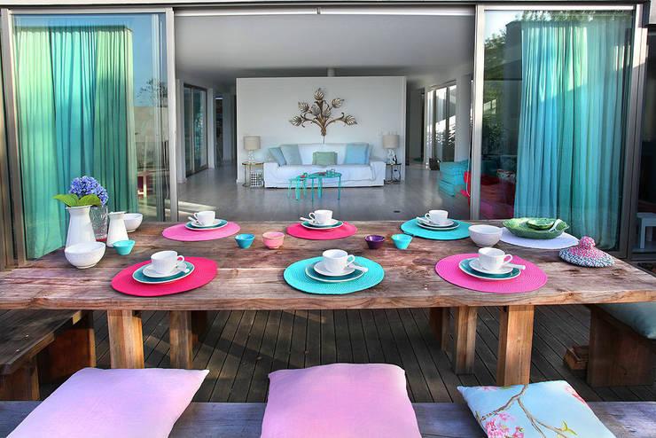 HAPPY HOME 2014: Terraços  por ROSA PURA HOME STORE