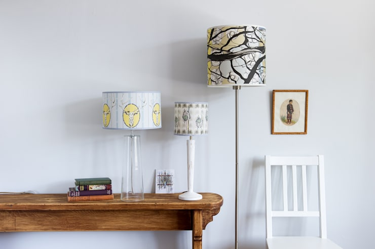 Selection of light shades:  Household by Rachel Reynolds