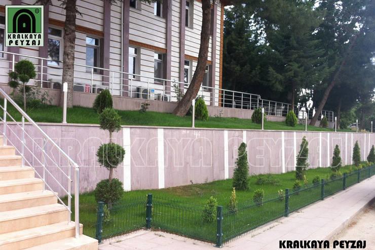 Kralkaya Peyzaj Havuz Fıskiye Sist. ve Pompa Mim. Müh. İnş. Ltd. Şti  – Eski Çeltek Kömür İşletmesi / Amasya:  tarz Bahçe, Akdeniz