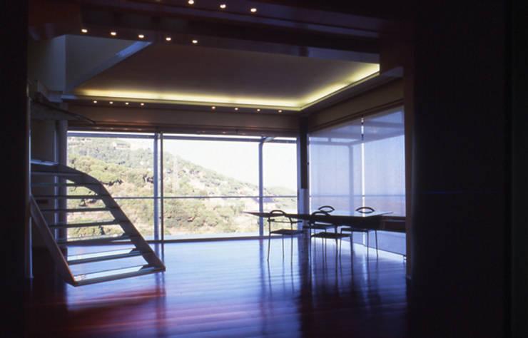 Dining room by zazurca arquitectos