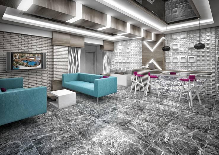 Point Dizayn – Kalaycıoğlu İnşaat Satış Ofisimiz:  tarz Dükkânlar, Modern