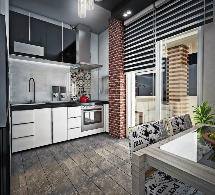 Point Dizayn – H.B. Mutfak Tasarımımız: modern tarz Mutfak