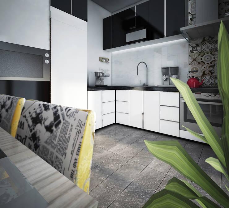 Point Dizayn – H.B. Mutfak Tasarımımız:  tarz Mutfak