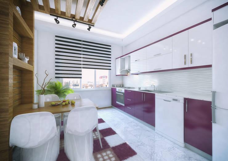 Projekty,  Kuchnia zaprojektowane przez Point Dizayn