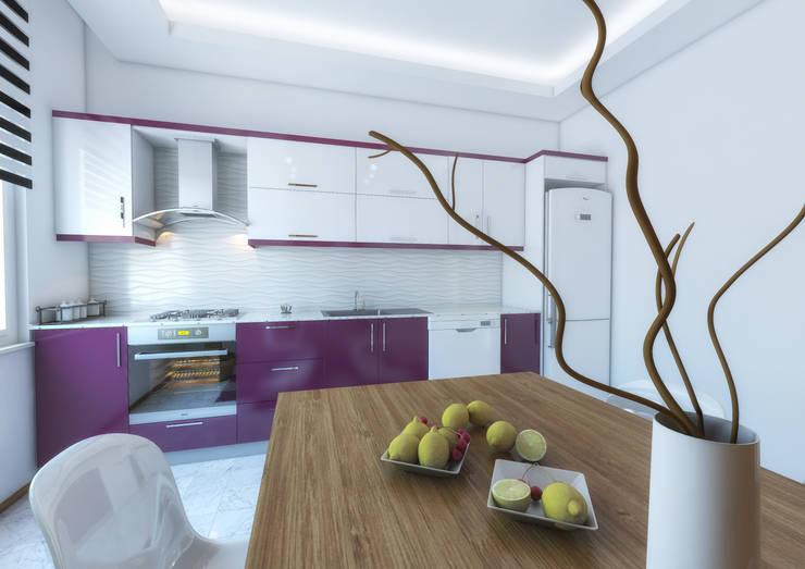Point Dizayn – F.C. Mutfak Tasarımımız: modern tarz Mutfak