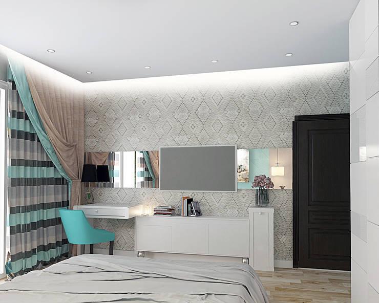 Квартира  на Проспекте Мира: Спальни в . Автор – ООО 'Студио-ТА'