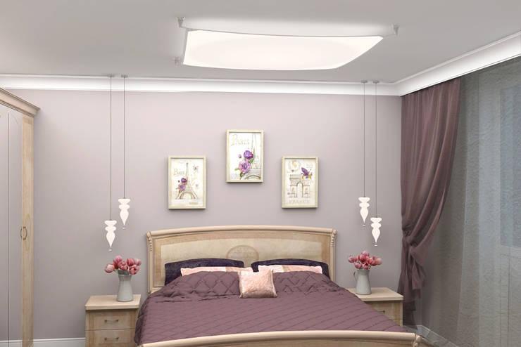 Дизайн-проект двухкомнатной квартиры: Спальни в . Автор – Студия дизайна и декора Светланы Фрунзе,