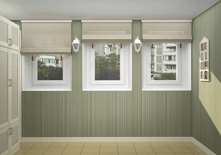 Дизайн-проект двухкомнатной квартиры: Tерраса в . Автор – Студия дизайна и декора Светланы Фрунзе,