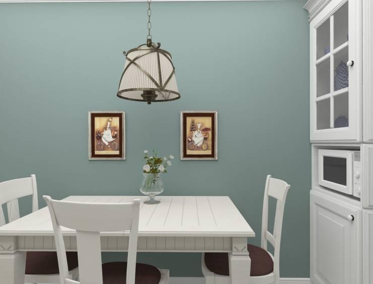 Дизайн-проект двухкомнатной квартиры: Кухни в . Автор – Студия дизайна и декора Светланы Фрунзе,