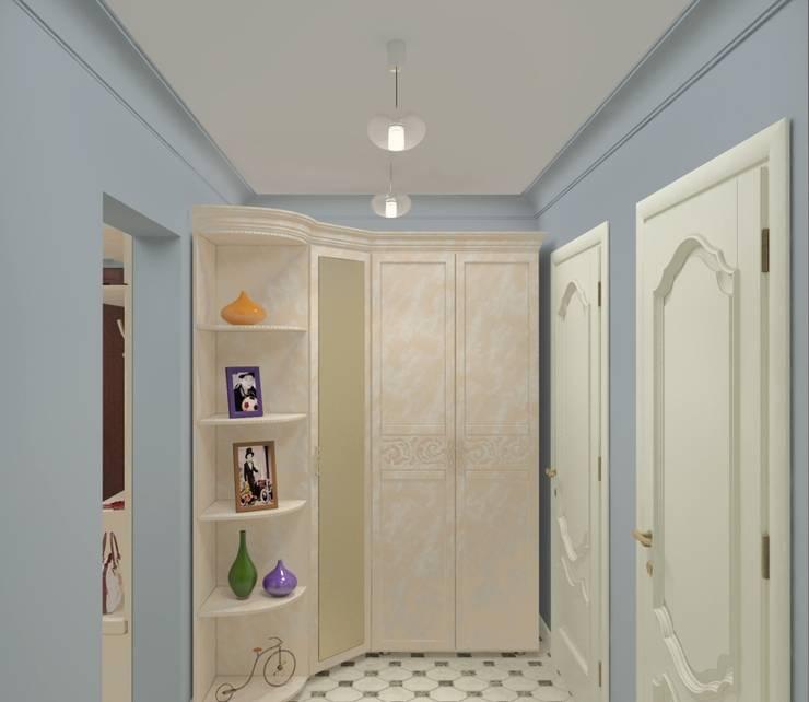 Дизайн-проект двухкомнатной квартиры: Коридор и прихожая в . Автор – Студия дизайна и декора Светланы Фрунзе,