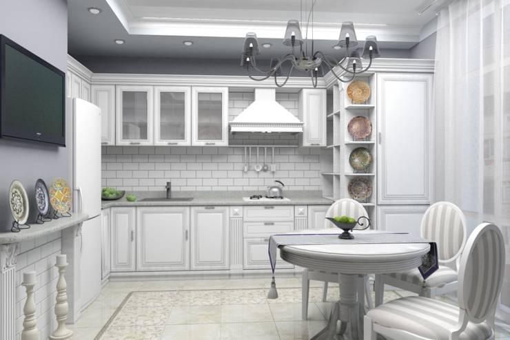 Дизайн-проект квартиры в классическом стиле: Кухни в . Автор – Студия дизайна и декора Светланы Фрунзе