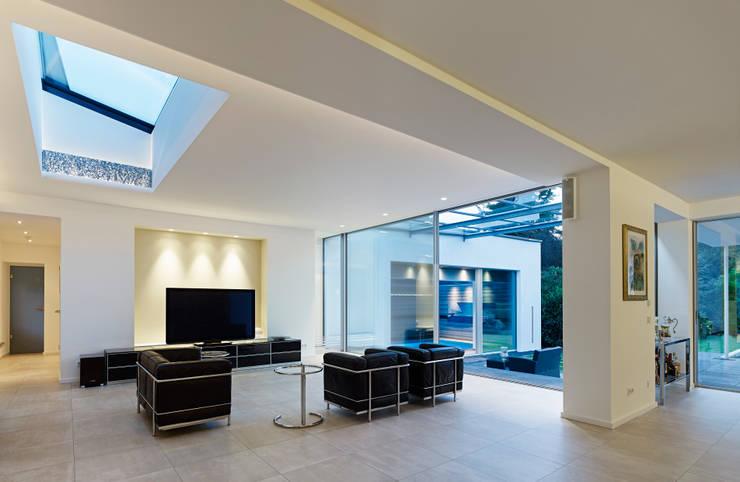 Living room by Gritzmann Architekten