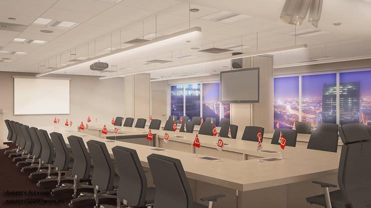 Комната переговоров: Офисные помещения в . Автор – Андреев Александр,