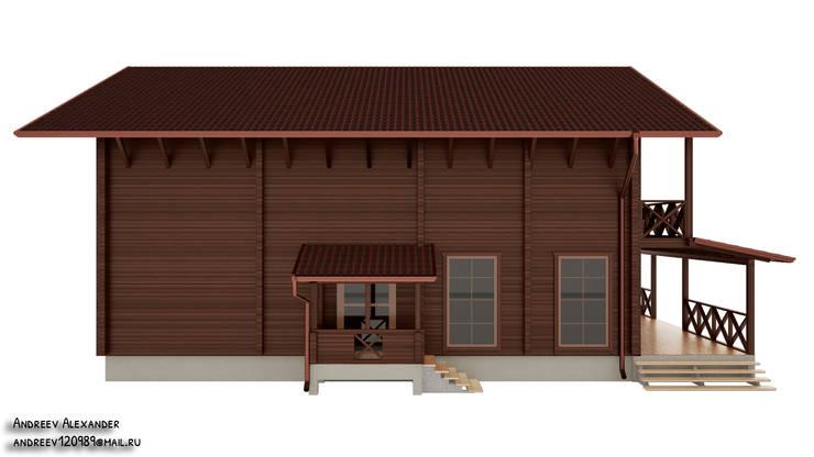 Визуализация фасадов: Дома в . Автор – Андреев Александр