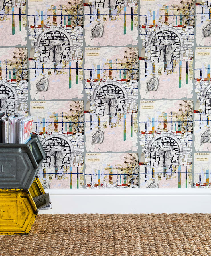 Southampton Fusion:  Walls & flooring by Rachel Reynolds